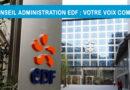 Conseil d'Administration EDF : votre voix compte