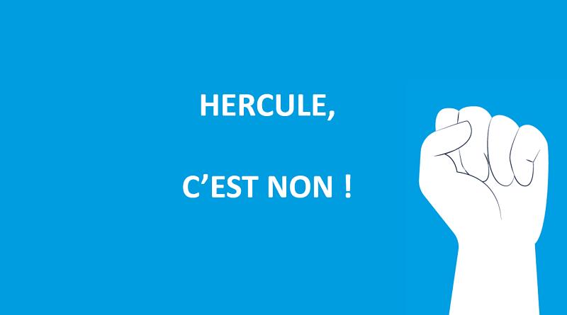 L'intersyndicale dit NON au projet Hercule