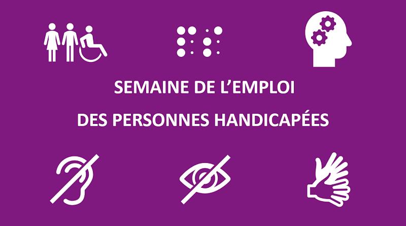 Semaine de l'emploi des personnes handicapées