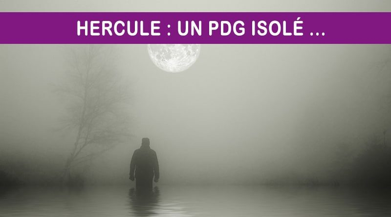 Homme solitude sombre