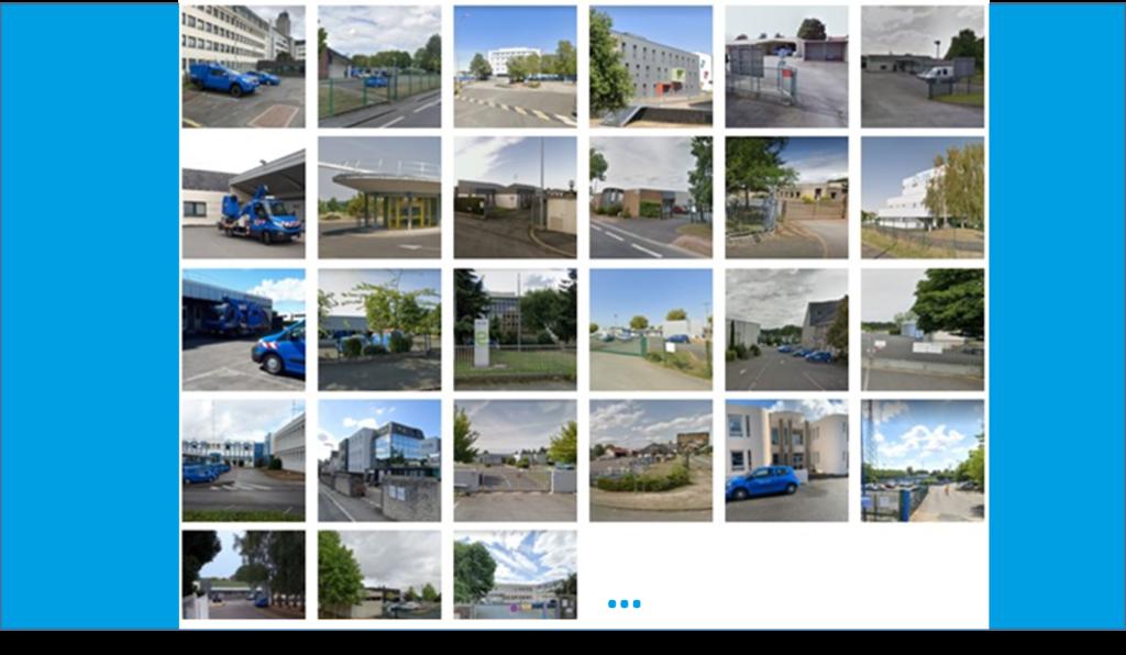 photos de 27 sites